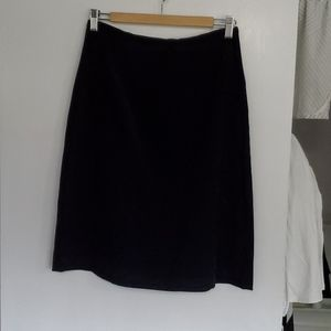 Northern Reflections Navy Microfiber Skirt